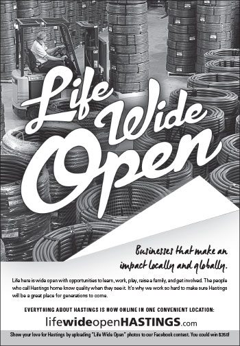 Life Wide Open Business Ad