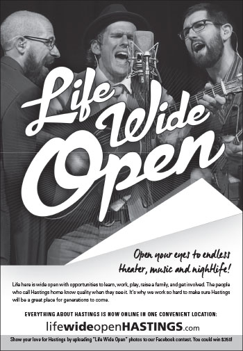 Life Wide Open Entertainment Ad