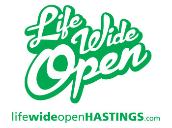 'Life Wide Open' Logo [Green]